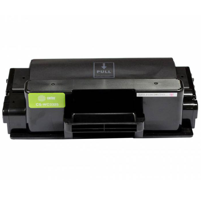 Cactus CS-WC3325, Black тонер-картридж для Xerox 3325 (106R02312)CS-WC3325Картридж Cactus CS-WC3325 для лазерных принтеров Xerox.Расходные материалы Cactus для лазерной печати максимизируют характеристики принтера. Обеспечивают повышенную чёткость чёрного текста и плавность переходов оттенков серого цвета и полутонов, позволяют отображать мельчайшие детали изображения. Обеспечивают надежное качество печати.