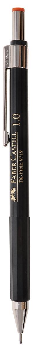 Faber-Castell Механический карандаш TK-FINE цвет кнопки оранжевый112436Механический карандаш Faber-Castell - незаменимый атрибут современного деловогочеловека дома и в офисе. Корпус карандаша круглой формы с металлическим клипом и наконечником выполненизвысококачественного пластика. Корпус дополнен надписями золотого цвета. Убирающийсявнутрь кончикобеспечивает безопасное ношение карандаша в кармане.Толщина линии: 1 мм.Мягкое комфортноеписьмо и тонкие линии при написании принесут вам максимум удовольствия. Порадуйтедрузей и знакомых,оказав им столь стильный знак внимания.