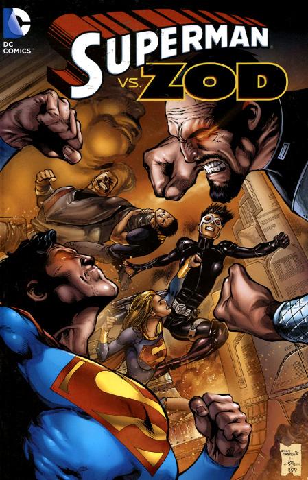 Superman vs. Zod the flash by geoff johns book three