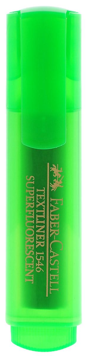 Faber-Castell Флуоресцентный текстовыделитель цвет зеленый263290Флуоресцентный текстовыделитель Faber-Castell зеленого цвета станет незаменимым предметом как на столе школьника, так и студента.Маркер с универсальными чернилами на водной основе идеален для всех видов бумаги. Линия маркировки шириной 5, 2 или 1 мм.