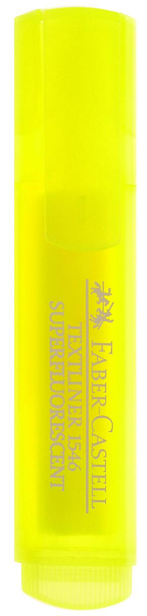 Faber-Castell Флуоресцентный текстовыделитель цвет желтый263287Флуоресцентный текстовыделитель Faber-Castell желтого цвета станет незаменимым предметом как на столе школьника, так и студента.Маркер с универсальными чернилами на водной основе идеален для всех видов бумаги. Линия маркировки шириной 5, 2 или 1 мм.