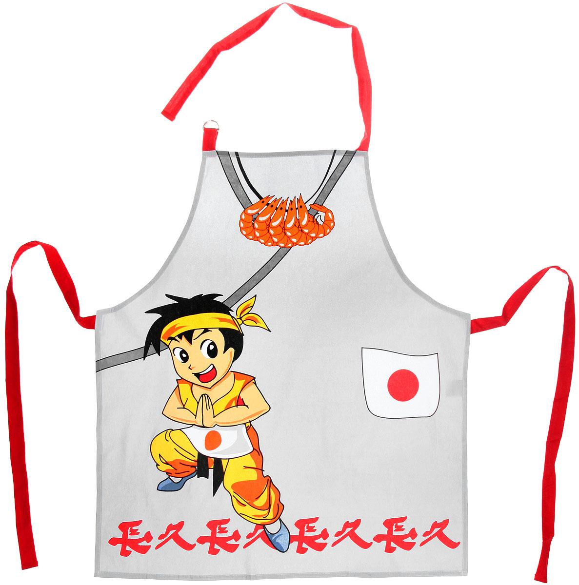 Фартук Bon Appetit Япония, 68 см х 75 см bon appetit фартук ландыши 68х75 см