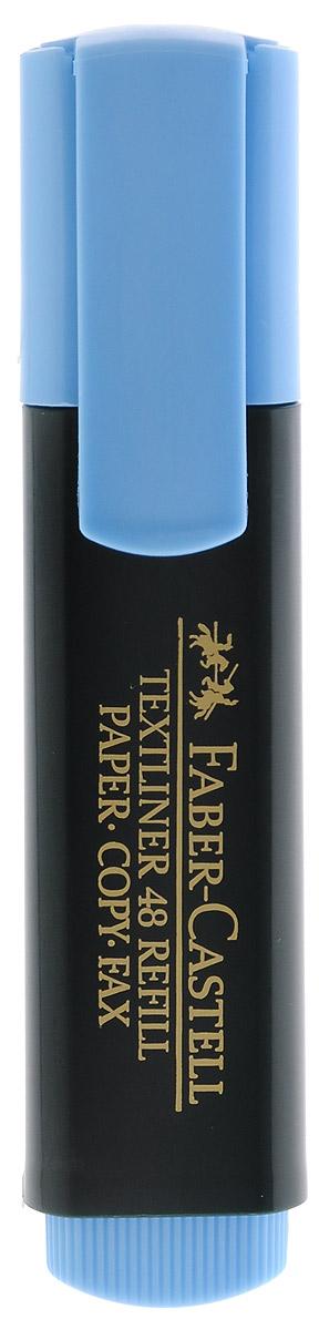 Faber-Castell Текстовыделитель цвет голубой263295Текстовыделитель Faber-Castell голубого цвета станет незаменимым предметом как на столе школьника, так и студента. Маркер с универсальными чернилами на водной основе идеален для всех видов бумаги. Имеется возможность повторного наполнения чернилами. Линия маркировки шириной 5, 2 или 1 мм.