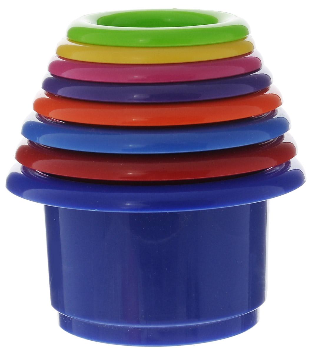 Курносики Игрушка-пирамидка Веселая радуга веселая радуга планшетик