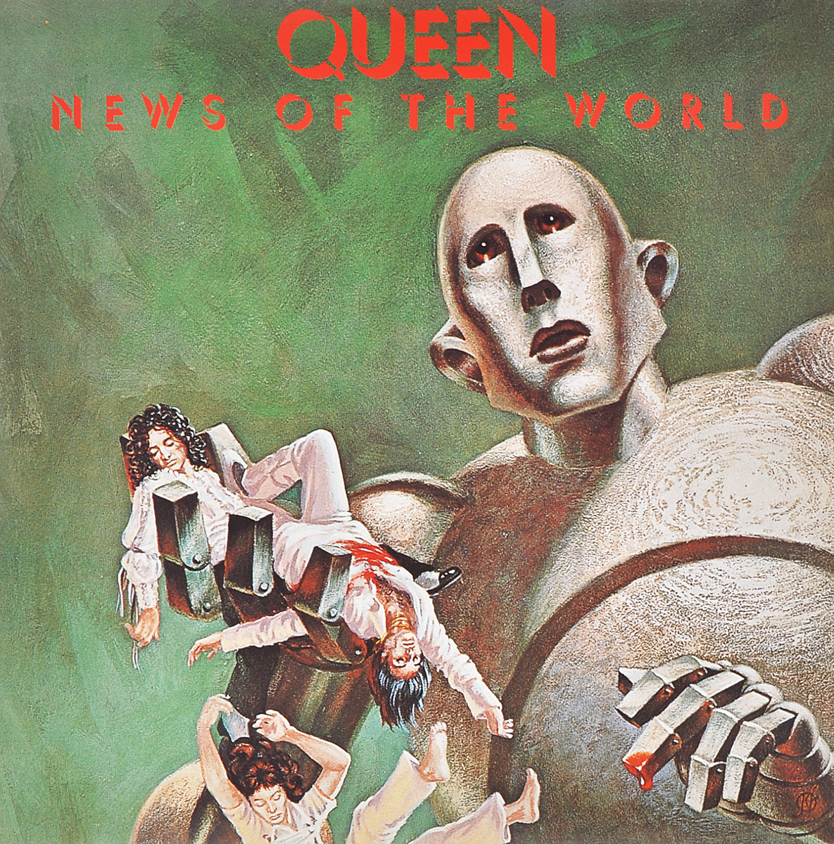 Queen Queen. News Of The World (LP) two world views