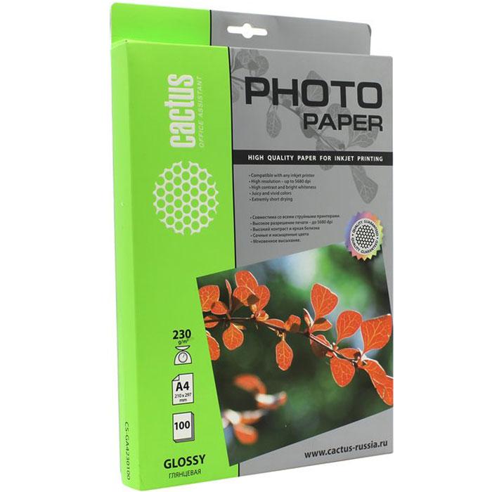Cactus CS-GA4230100 глянцевая фотобумагаCS-GA4230100Глянцевая фотобумага Cactus CS-GA4230100.Запечатлевайте лучшие мгновения вашей жизни в сочных и насыщенных цветах. Представляйте яркие и красочные презентации. Наслаждайтесь отпечатками высочайшего качества. Глянцевая фотобумага Cactus представляет собой оптимальное сочетание цены и качества. Она отлично подходит для печати памятных фотографий в фоторамку или фотоальбом. Обладая приятным глянцевым блеском, она украсит ваши фотографии и презентации. А высококлассное покрытие позволит добиться максимально точной цветопередачи, что будет полезно при печати макетов и web-графики. Предназначена только для струйных принтеров.