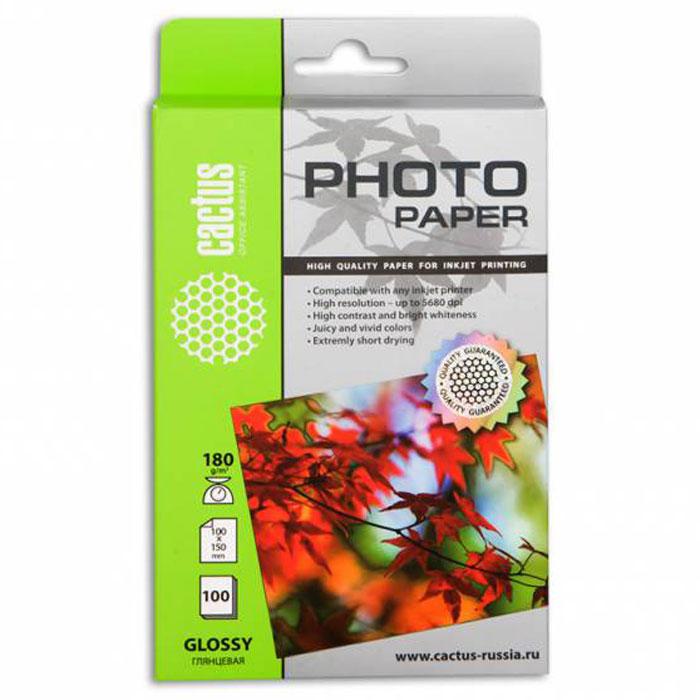 Cactus CS-GA6180100 глянцевая фотобумагаCS-GA6180100Глянцевая фотобумага Cactus CS-GA6180100. Запечатлевайте лучшие мгновения вашей жизни в сочных и насыщенных цветах. Представляйте яркие и красочные презентации. Наслаждайтесь отпечатками высочайшего качества. Глянцевая фотобумага Cactus представляет собой оптимальное сочетание цены и качества. Она отлично подходит для печати памятных фотографий в фоторамку или фотоальбом. Обладая приятным глянцевым блеском, она украсит ваши фотографии и презентации. А высококлассное покрытие позволит добиться максимально точной цветопередачи, что будет полезно при печати макетов и web-графики.Предназначена только для струйных принтеров.