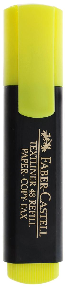 Faber-Castell Текстовыделитель цвет желтый263291Текстовыделитель Faber-Castell желтого цвета станет незаменимым предметом как на столе школьника, так и студента. Маркер с универсальными чернилами на водной основе идеален для всех видов бумаги. Имеется возможность повторного наполнения чернилами. Линия маркировки шириной 5, 2 или 1 мм.