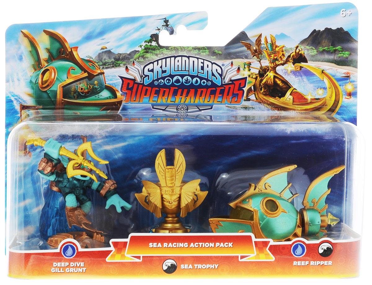Skylanders SuperChargers. Набор для гонок стихия Water skylanders spyro s adventure стартовый набор