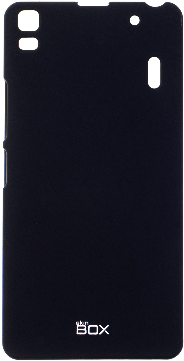 Skinbox 4People чехол для Lenovo A7000, Black skinbox 4people чехол для lenovo vibe p1 black