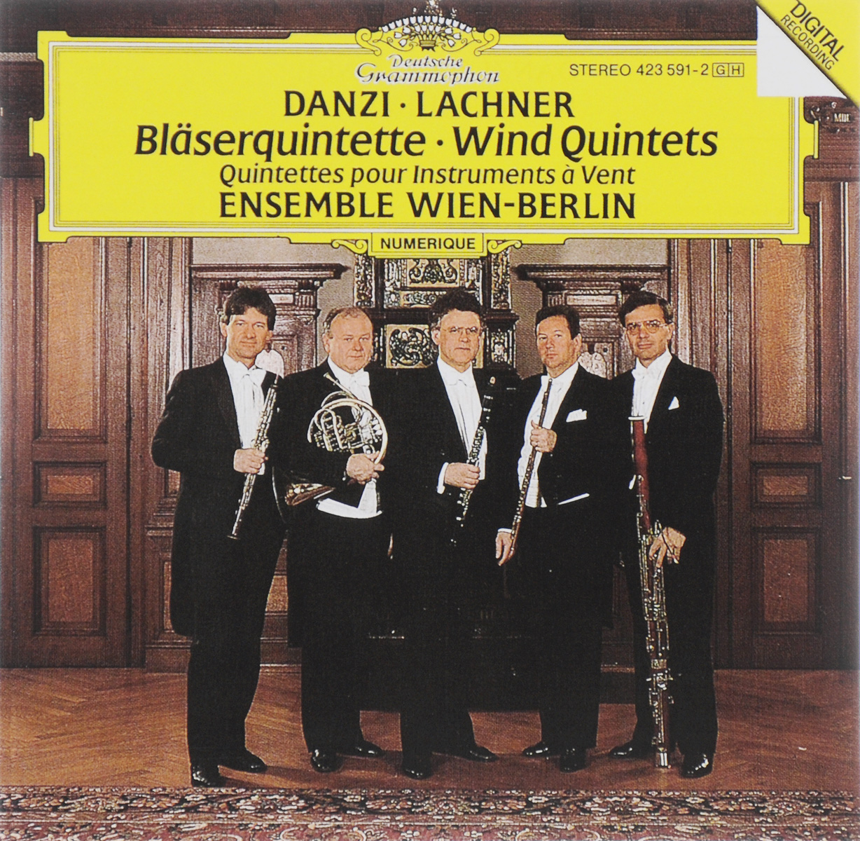 Ensemble Wien-Berlin Ensemble Wien-Berlin. Danzi / Lachner. Blaserquintette халат домашний five wien home five wien home mp002xm23qrx