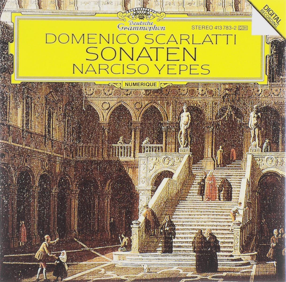 Нарцисо Йепес Narciso Yepes. Domenico Scarlatti. Sonaten rodrigo rodrigonarciso yepes concierto de aranjuez fantasia