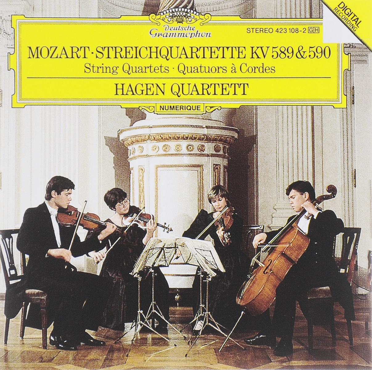 Hagen Quartett Hagen Quartett. Mozart. Streichquartette KV 589 & 590 farid hagen