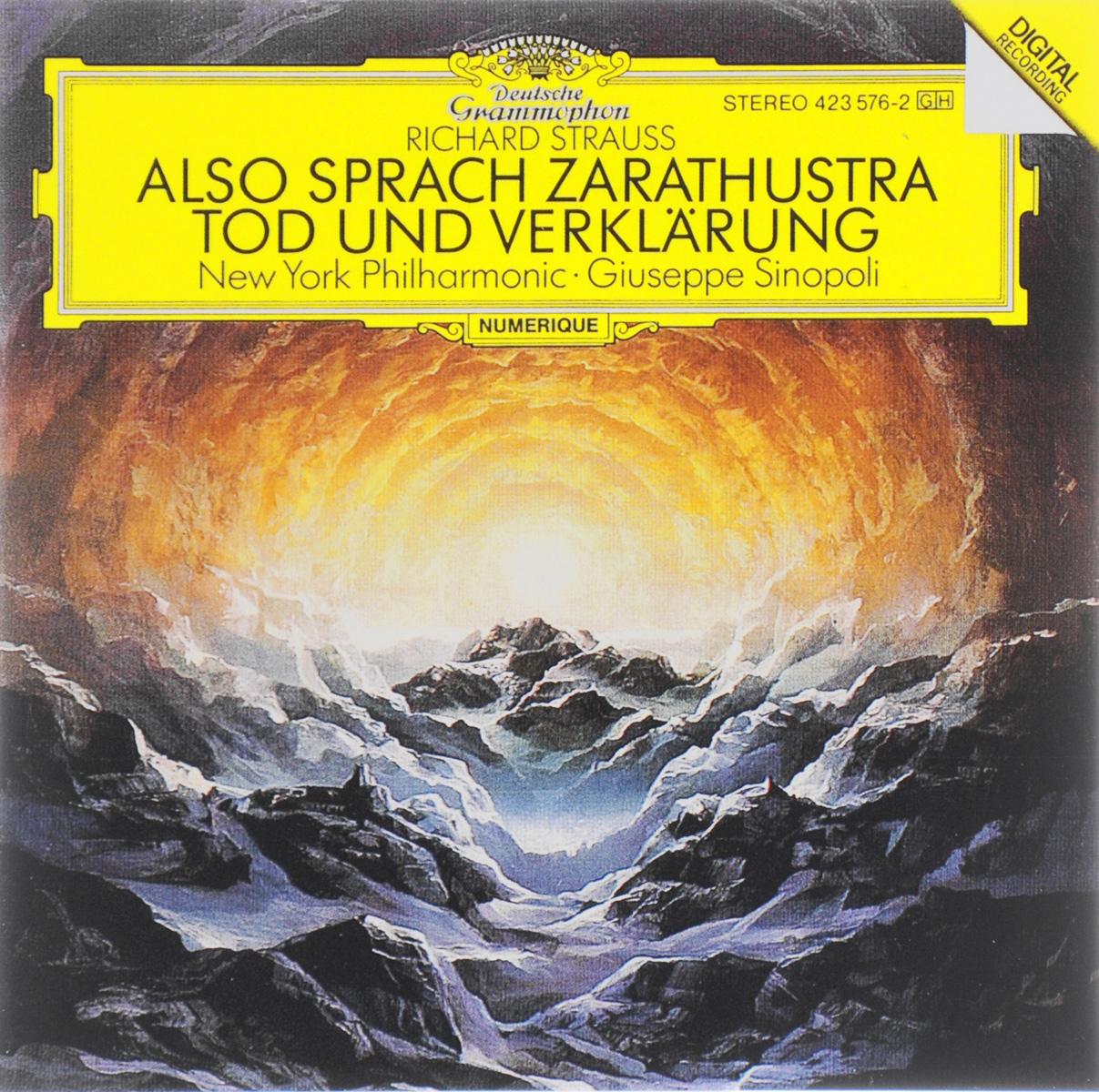 Giuseppe Sinopoli. Richard Strauss. Also Sprach Zaratustra / Tod Und Verklarung