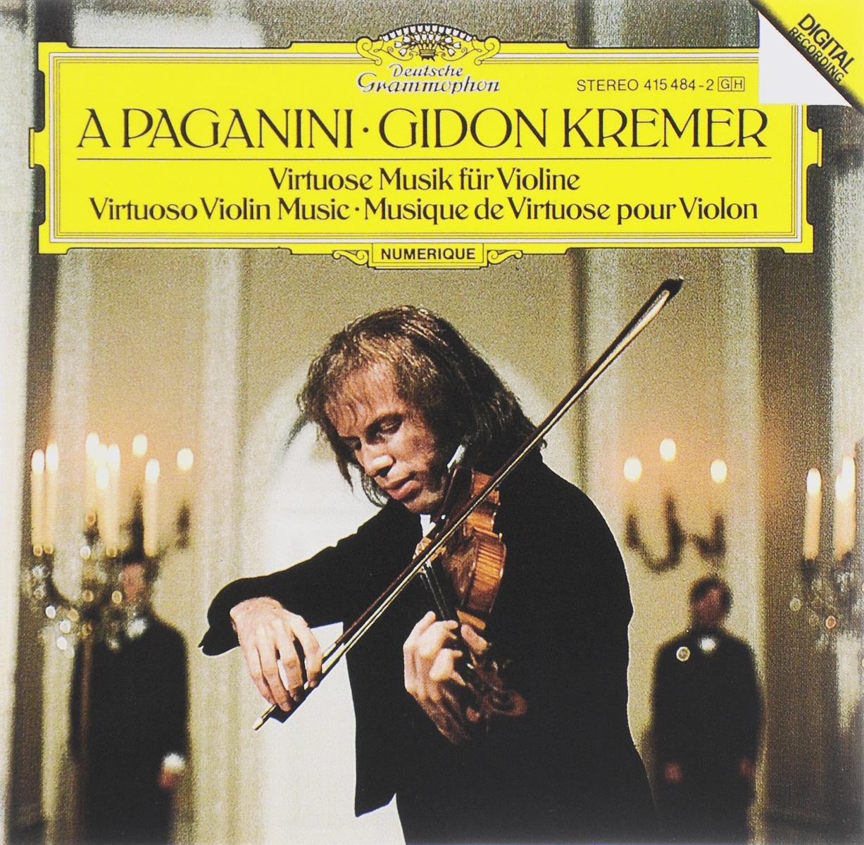 Гидон Кремер Gidon Kremer. A Paganini. Virtuose Musik Fur Violine гидон кремер виктория муллова генрих шифф dmitri shostakovich complete concertos 3 cd