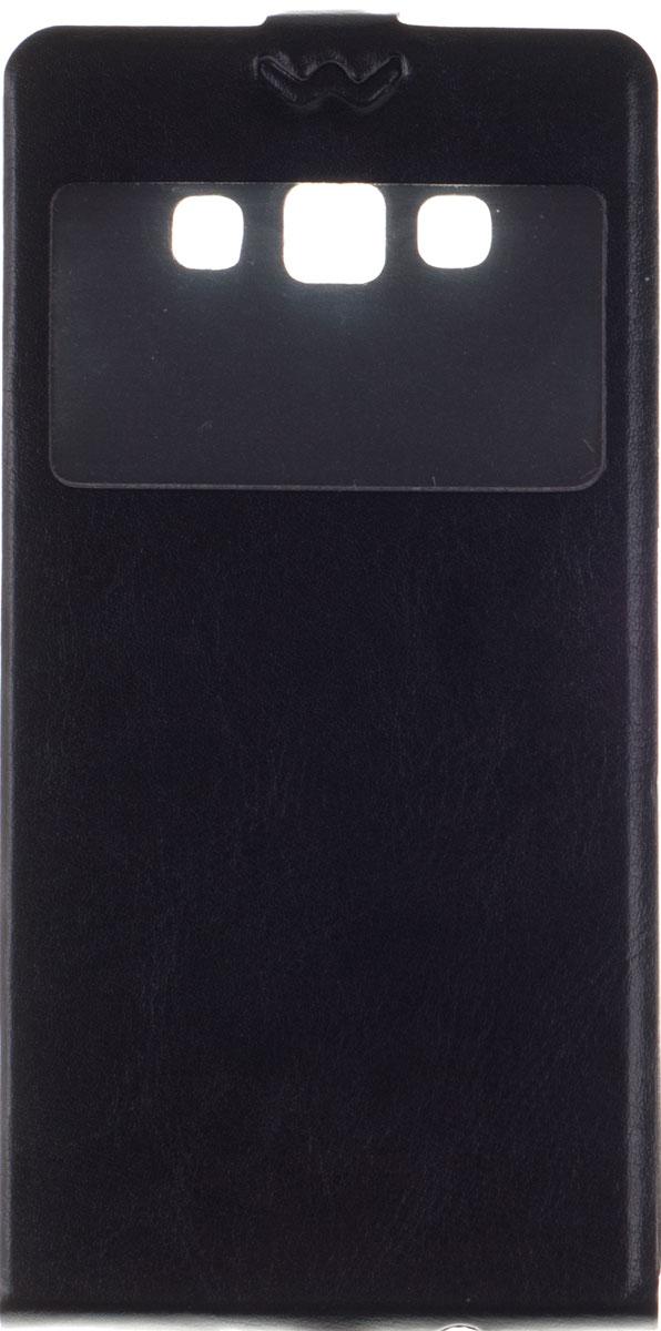 Skinbox Slim AW чехол для Samsung Galaxy A7 (A700), Black чехол флип skinbox slim aw для samsung galaxy a3 черный