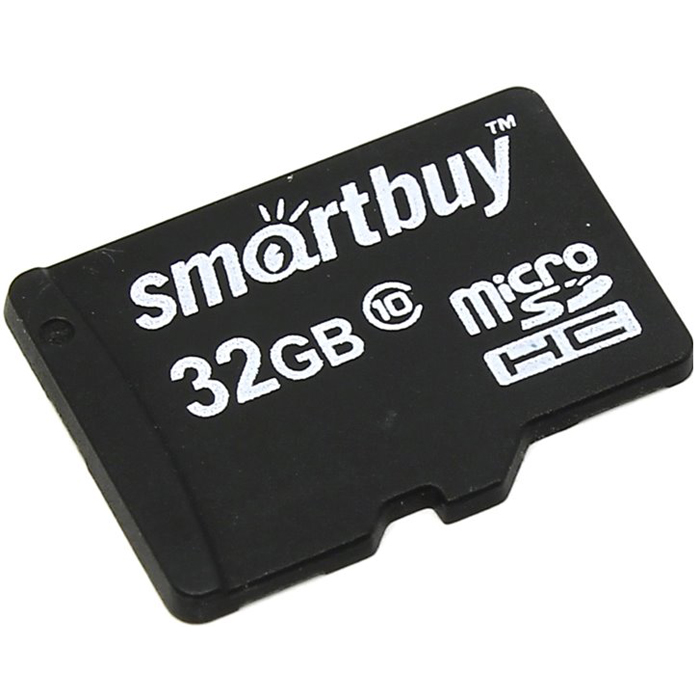 SmartBuy microSDHC Сlass 10 32GB карта памяти (без адаптера) smartbuy ignition plus 60 гб обзор