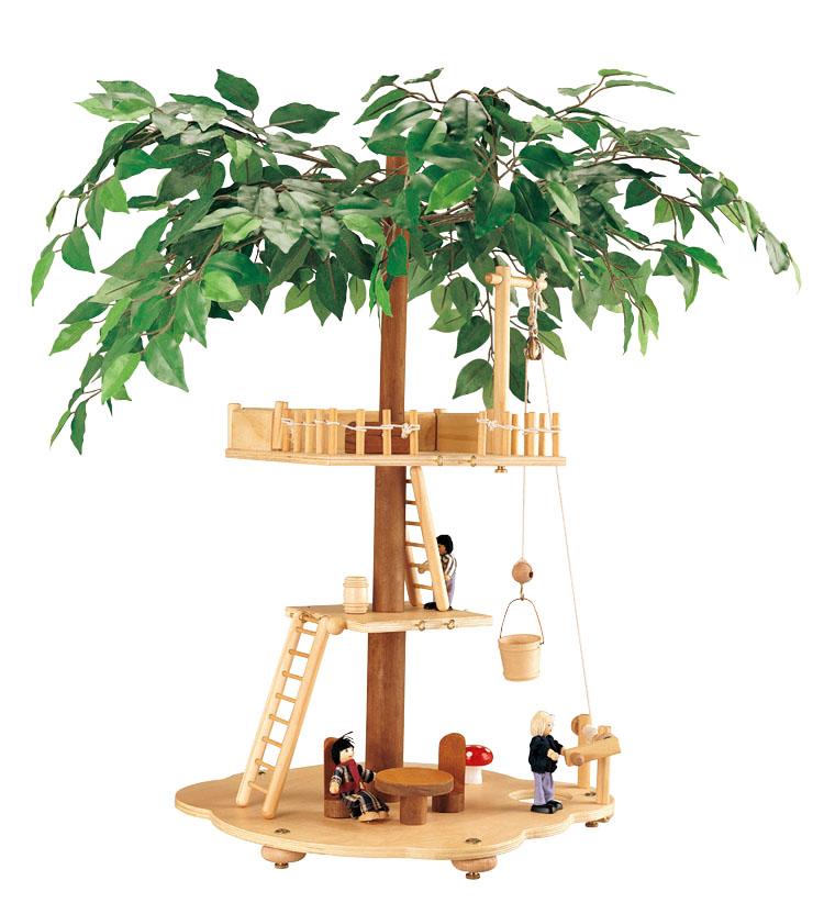 Balbi Дом для кукол Домик на дереве кукольные домики и мебель balbi игровой набор домик на дереве tt 010