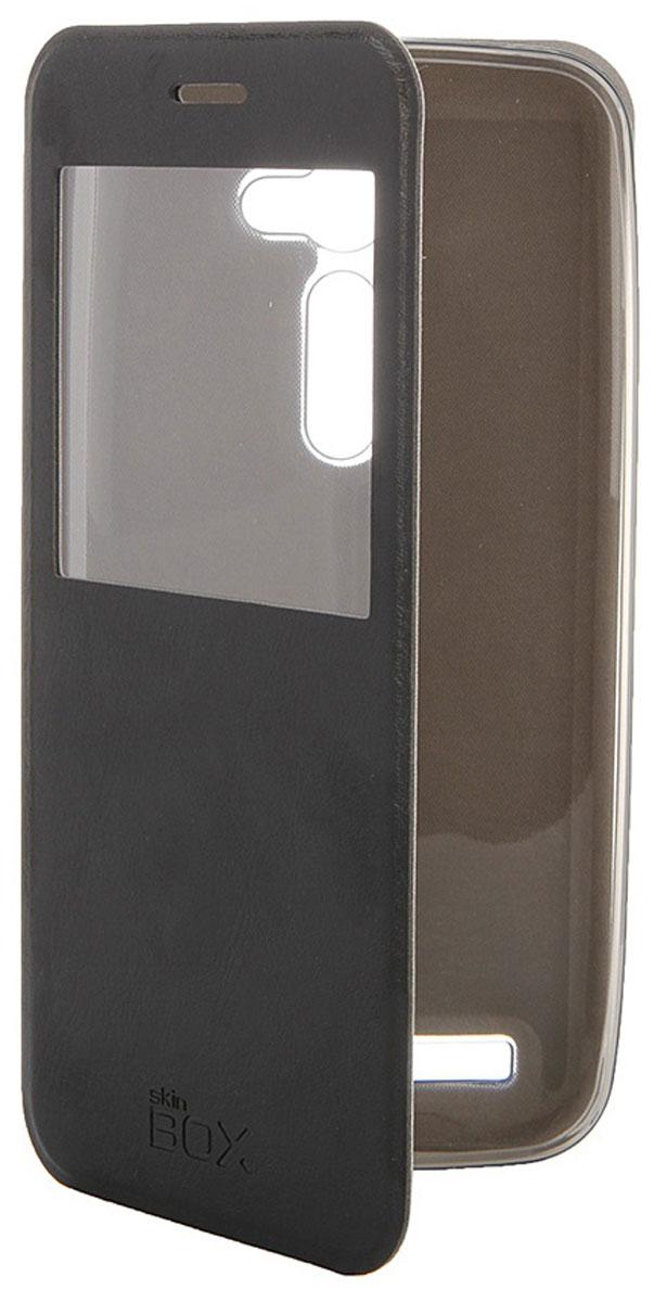 Skinbox Lux AW чехол для Asus ZenFone 2 (ZE500C), Black аксессуар чехол накладка asus zenfone c zc451cg cherry black 8270