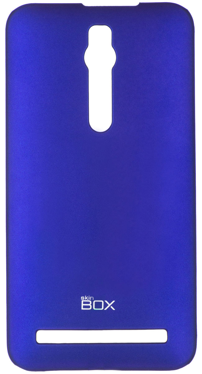 Skinbox 4People чехол для Asus ZenFone 2 (ZE551ML/ZE550ML), Blue skinbox 4people чехол для asus zenfone 2 ze500cl blue