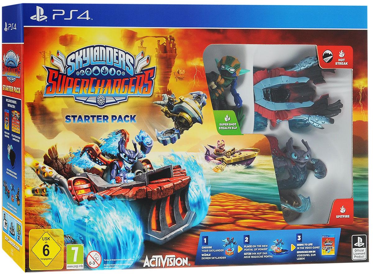 Skylanders SuperChargers. Стартовый набор (PS4) skylanders spyro s adventure стартовый набор