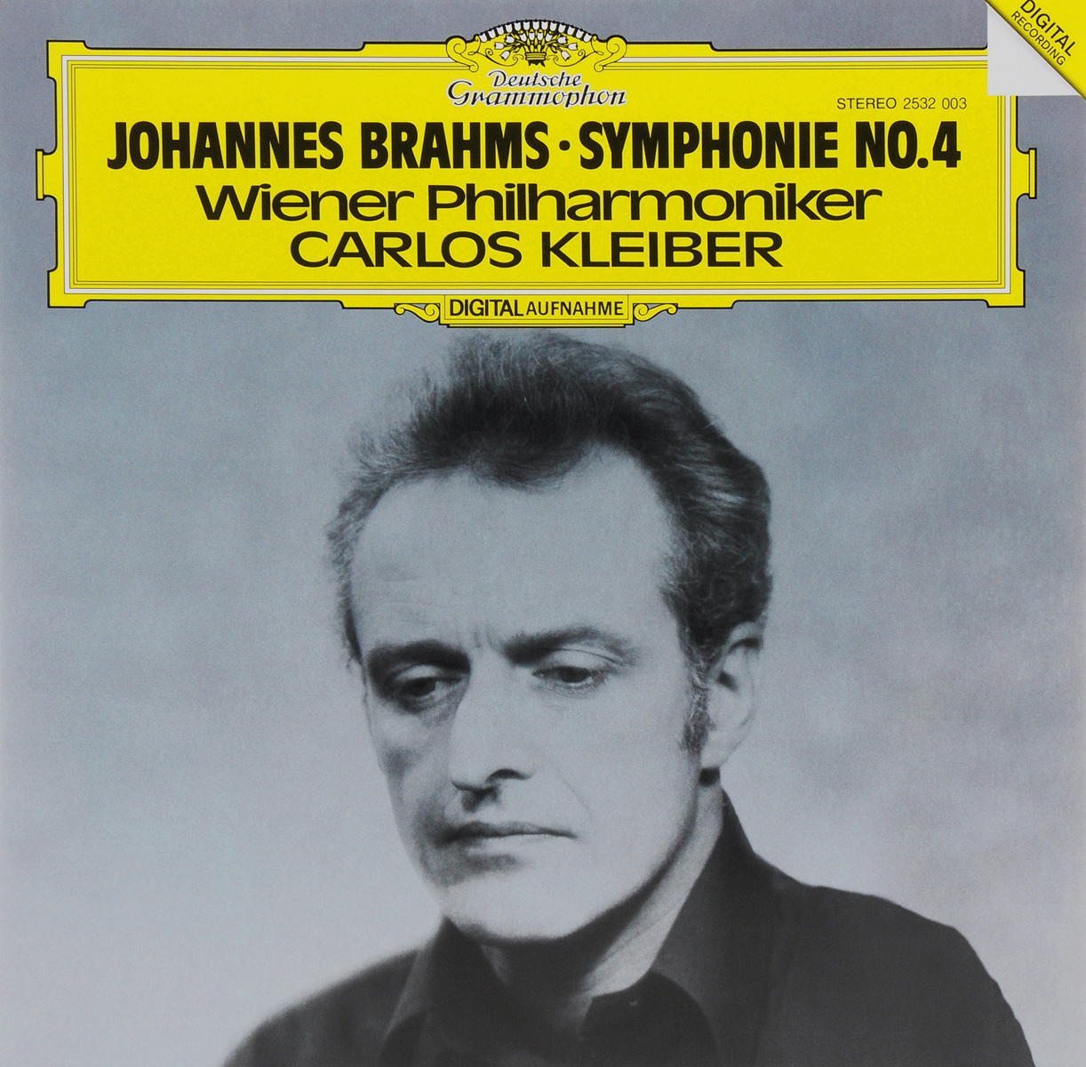 Carlos Kleiber. Johannes Brahms. Symphonie No. 4 (LP)