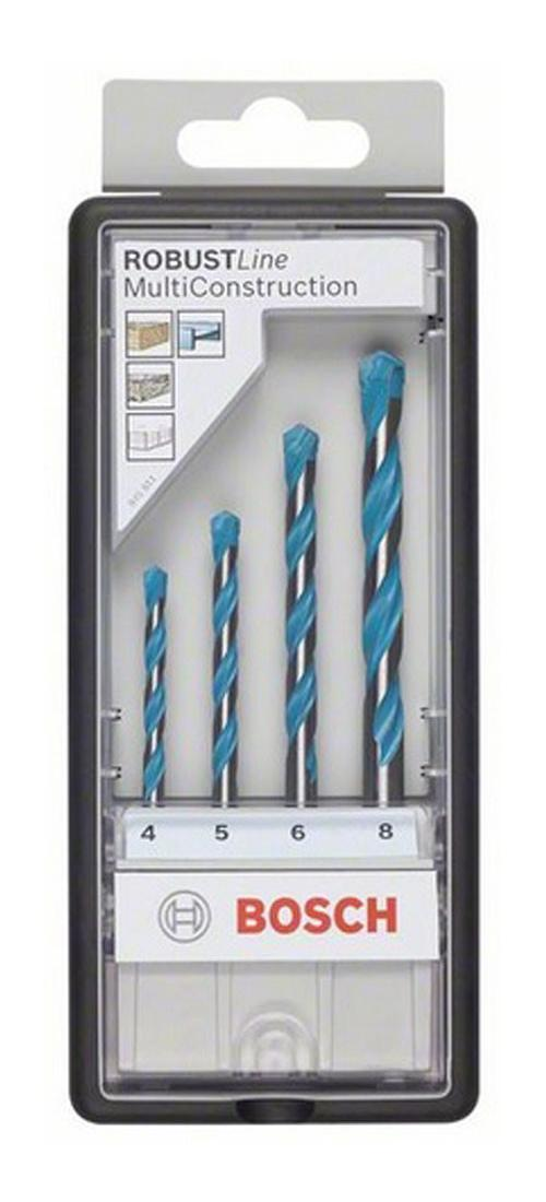 Набор универсальных сверл Bosch Robust Line CYL-9, 4 шт Bosch
