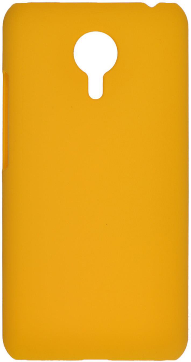 все цены на Skinbox 4People чехол для Meizu MX5, Yellow онлайн