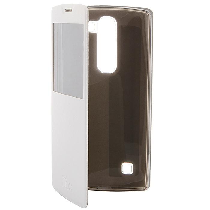 Skinbox Lux AW чехол для LG Magna, WhiteT-S-LM-004Чехол Skinbox Lux AW для LG Magna выполнен из высококачественного поликарбоната и искусственной кожи. Он обеспечивает надежную защиту корпуса и экрана смартфона и надолго сохраняет его привлекательный внешний вид. Чехол также обеспечивает свободный доступ ко всем разъемам и клавишам устройства.