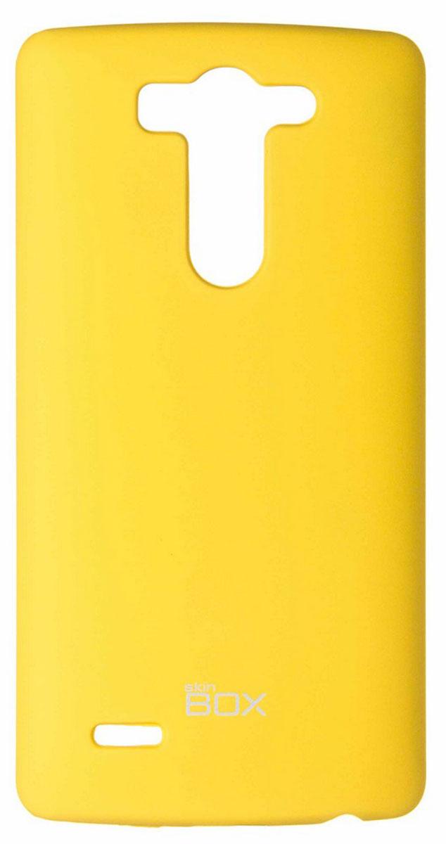 Skinbox 4People чехол для LG G3S, Yellow чехлы для телефонов skinbox накладка для lg nexus 5 skinbox серия 4people защитная пленка в комплекте