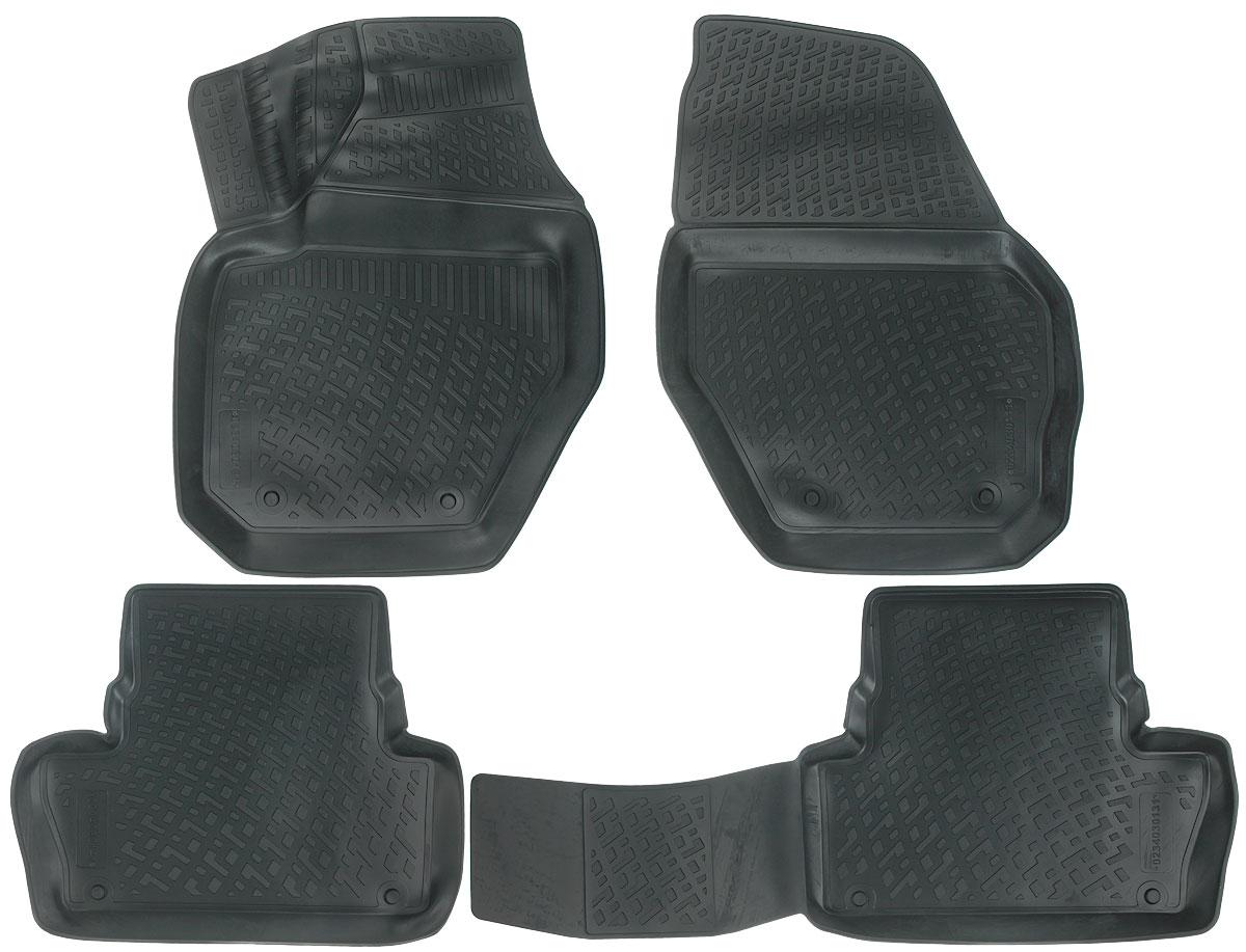 Набор автомобильных ковриков L.Locker Volvo XC60 2008, в салон, 4 шт0234030101Набор L.Locker Volvo XC60 2008, изготовленный из полиуретана,состоит из 4 антискользящих 3D ковриков,которые производятся индивидуально для каждой моделиавтомобиля. Изделие точно повторяет геометрию пола автомобиля, имеет высокийборт, обладает повышенной износоустойчивостью, лишено резкого запаха и сохраняет своипотребительские свойства в широком диапазоне температур от -50°С до +50°С.Комплектация: 4 шт.Размер ковриков: 70 см х 51 см; 57 см х 44 см; 96 см х 45 см; 69 см х 53 см.