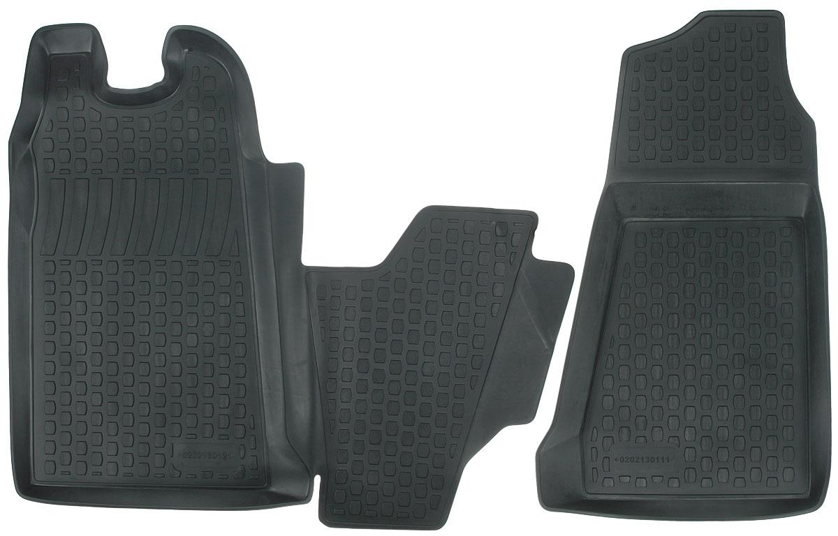 Набор автомобильных ковриков L.Locker Ford Transit Front 2006, передние, в салон, 2 шт0202130101Набор L.Locker Ford Transit Front 2006, изготовленный из полиуретана,состоит из 2 ковриков,которые производятся индивидуально для каждой моделиавтомобиля. Изделие точно повторяет геометрию пола автомобиля, имеет высокийборт, обладает повышенной износоустойчивостью, лишено резкого запаха и сохраняет своипотребительские свойства в широком диапазоне температур от -50°С до +50°С.Комплектация: 2 шт.Размер ковриков: 81 см х 91 см; 85 см х 47 см.