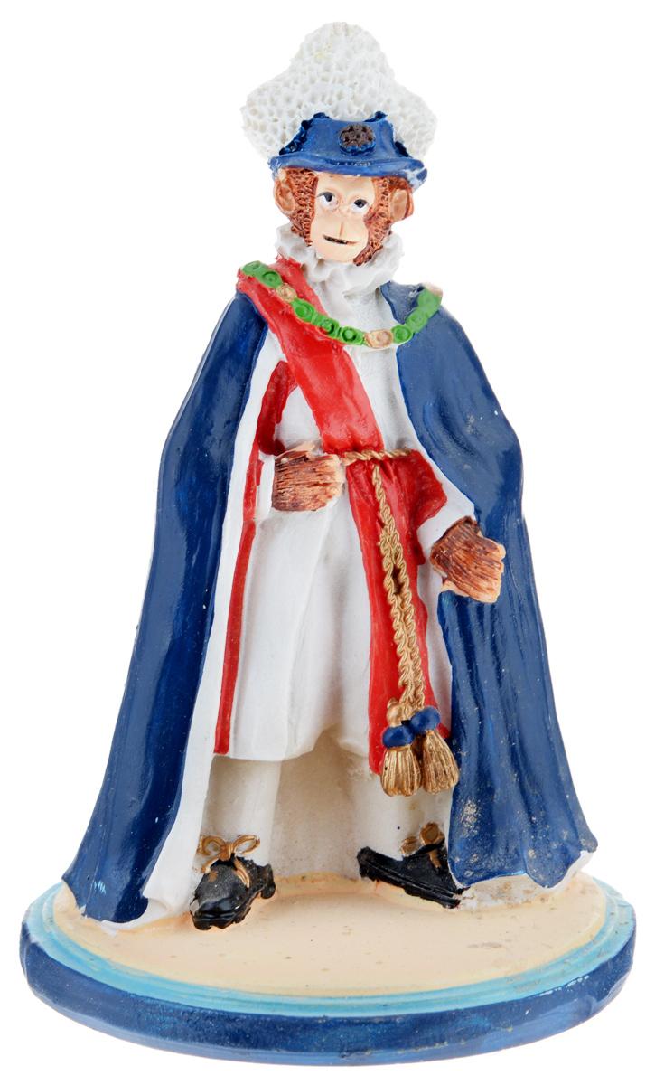 Фигурка декоративная Обезьяна-принц, высота 12,2 см38256Декоративная фигурка Обезьяна-принц станет оригинальным подарком для всех любителей стильных вещей. Сувенир выполнен из высококачественной полирезины в виде обезьяны в королевской одежде. Изысканный сувенир станет прекрасным дополнением к интерьеру. Вы можете поставить фигурку в любом месте, где она будет удачно смотреться и радовать глаз.