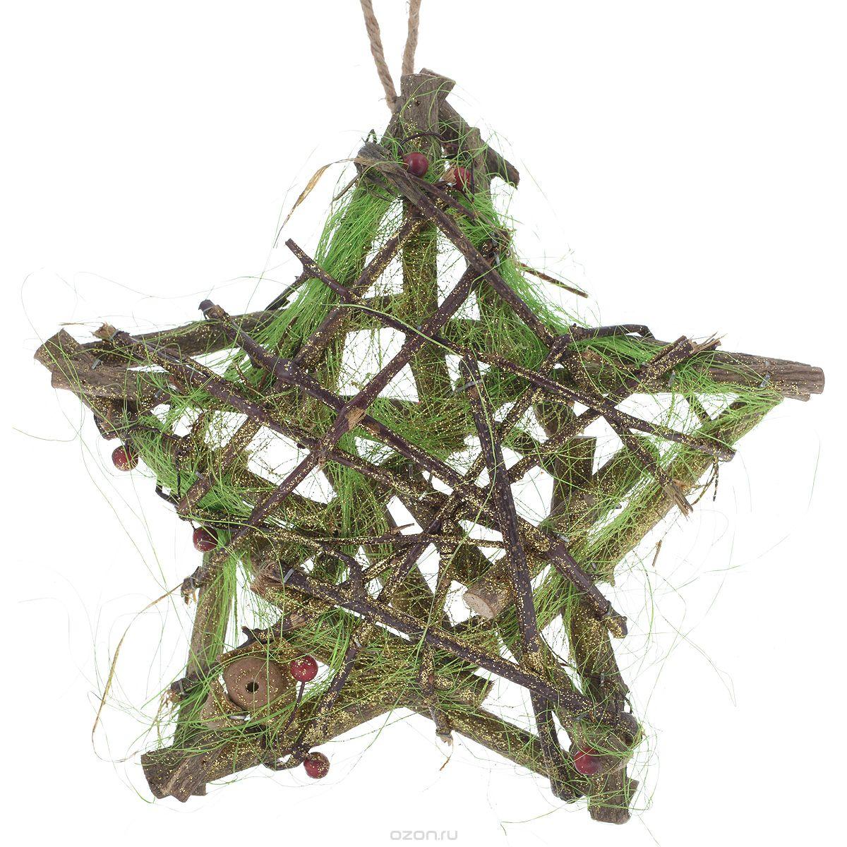 Декоративный элемент Dongjiang Art, 33 см х 33 см7709039Декоративный элемент Dongjiang Art, изготовленный из натурального дерева,представляет собой звезду, оформленную цветными нитями и блестками. Такая звезда дополнит интерьер любого помещения, а такжесможет стать оригинальным подарком для ваших друзей и близких.Дополнительно вы можете украсить звезду лентами, фигурками, красивыми бусинами, цветной бумагой и другим материалом. Оформление помещения декоративными элементами создаст праздничную, по-настоящему радостную и теплую атмосферу.