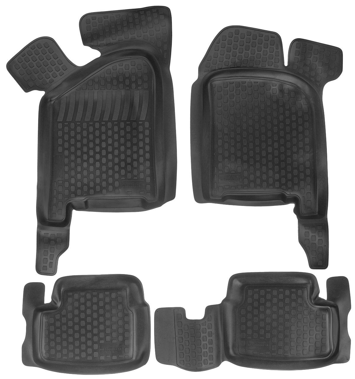 Набор автомобильных ковриков L.Locker ВАЗ 2108-2109/2113-2115, в салон, 4 шт бу кузов ваз 2109