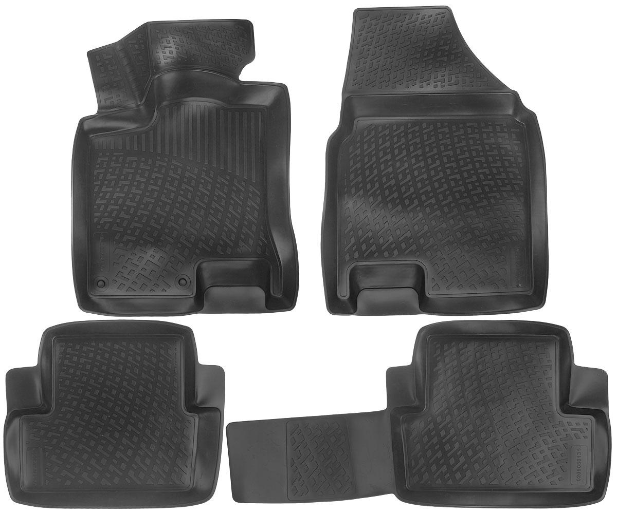 Набор автомобильных ковриков L.Locker Nissan Qashqai 2007, в салон, 4 шт0205050101Набор L.Locker Nissan Qashqai 2007, изготовленный из полиуретана, состоит из 4 антискользящих 3D ковриков, которые производятся индивидуально для каждой модели автомобиля. Изделие точно повторяет геометрию пола автомобиля, имеет высокий борт, обладает повышенной износоустойчивостью, лишено резкого запаха и сохраняет свои потребительские свойства в широком диапазоне температур от -50°С до +50°С.Комплектация: 4 шт.Размер ковриков: 74 см х 54 см; 97 см х 46 см; 55 см х 47 см; 78 см х 57 см.