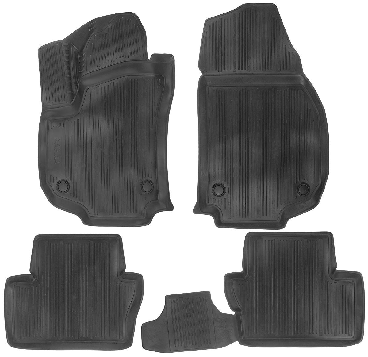 Набор автомобильных ковриков L.Locker Opel Zafira В 2005, в салон, 4 шт0211040501Набор L.Locker Opel Zafira В 2005, изготовленный из полиуретана, состоит из 4 антискользящих 3D ковриков, которые производятся индивидуально для каждой модели автомобиля. Изделие точно повторяет геометрию пола автомобиля, имеет высокий борт, обладает повышенной износоустойчивостью, лишено резкого запаха и сохраняет свои потребительские свойства в широком диапазоне температур от -50°С до +50°С.Комплектация: 4 шт.Размер ковриков: 82 см х 49 см; 53 см х 45 см; 88 см х 45 см; 52 см х 87 см.