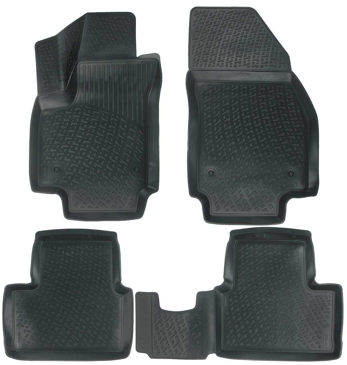 Набор автомобильных ковриков L.Locker Opel Meriva B 2010, в салон, 4 шт0211050201Набор L.Locker Opel Meriva B 2010, изготовленный из полиуретана, состоит из 4 антискользящих 3D ковриков, которые производятся индивидуально для каждой модели автомобиля. Изделие точно повторяет геометрию пола автомобиля, имеет высокий борт, обладает повышенной износоустойчивостью, лишено резкого запаха и сохраняет свои потребительские свойства в широком диапазоне температур от -50°С до +50°С.Комплектация: 4 шт.Размер ковриков: 91 см х 53,5 см; 53 см х 86 см; 53 см х 54 см; 53 см х 86 см.