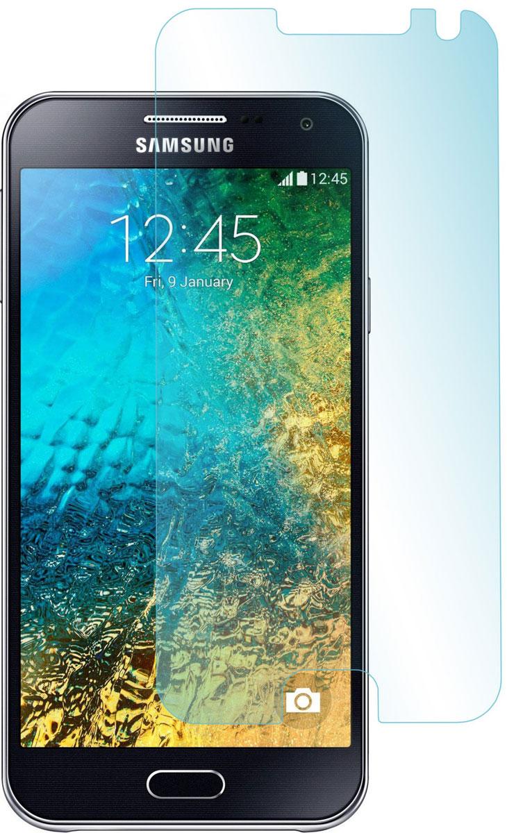 Skinbox защитное стекло для Samsung Galaxy E5, глянцевое