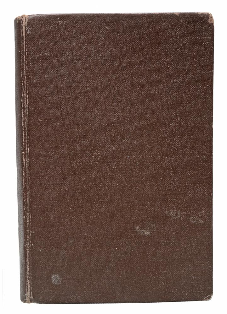Махзор. Праздничные молитвы. Часть IFIDB-8513Вильна, 1902 год. Издание Розенкранца и Шрифтветцера.Владельческий переплет.Сохранность хорошая.Махзор - это книга, содержащая собрание праздничных молитв и славословий всего года, молитвенник на праздники. Слово махзор означаетцикл - это название восходит к знаменитому молитвеннику XII века, содержащему полный годичный цикл молитв.Не подлежит вывозу за пределы Российской Федерации.