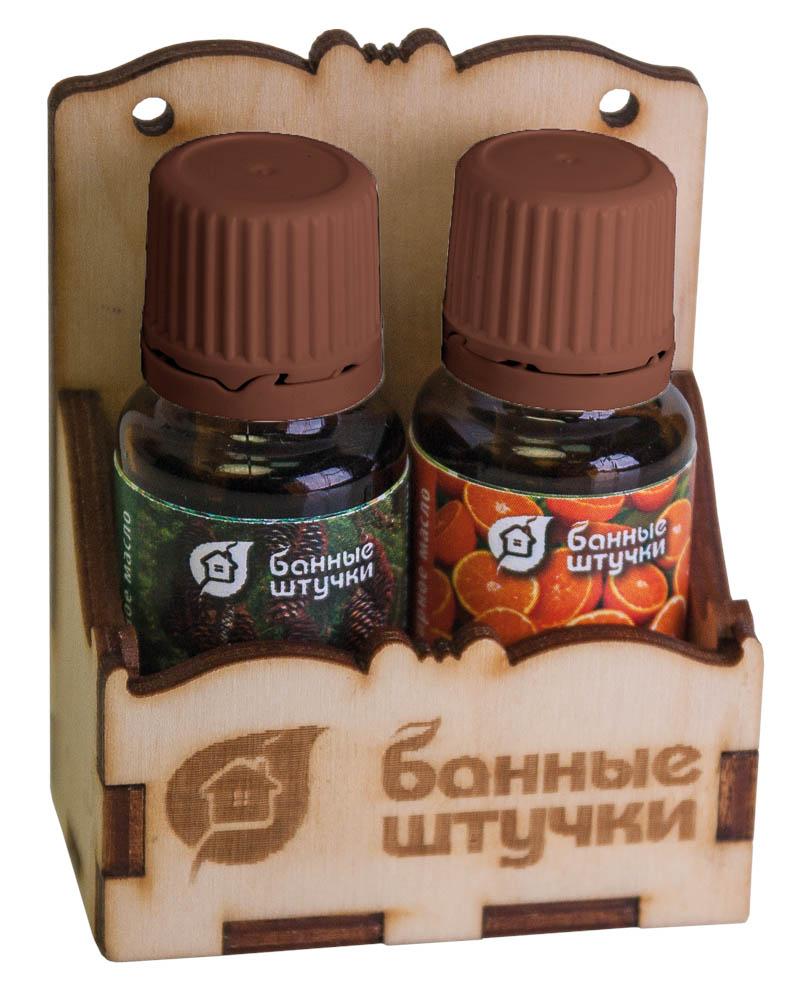 Набор эфирных масел Легкое дыхание, ель, апельсин, 15 мл, 2 шт набор эфирных масел банные штучки 33403