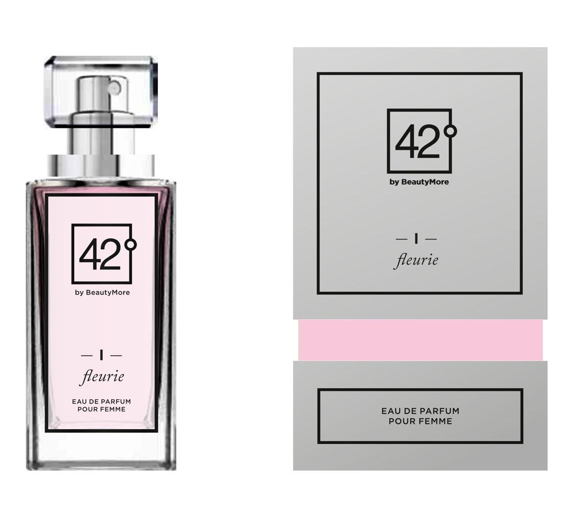 Fragrance 42 Парфюмированная вода для женщин I Fleuri 50 мл42-96153Fleurie -цветочный очаровательный аромат для веселых и очаровательных женщин. Верхняя нота - апельсин, бергамот, нота сердца - роза,восточный жасмин, базовые ноты -ветивер, белый мускус,пачули,ваниль