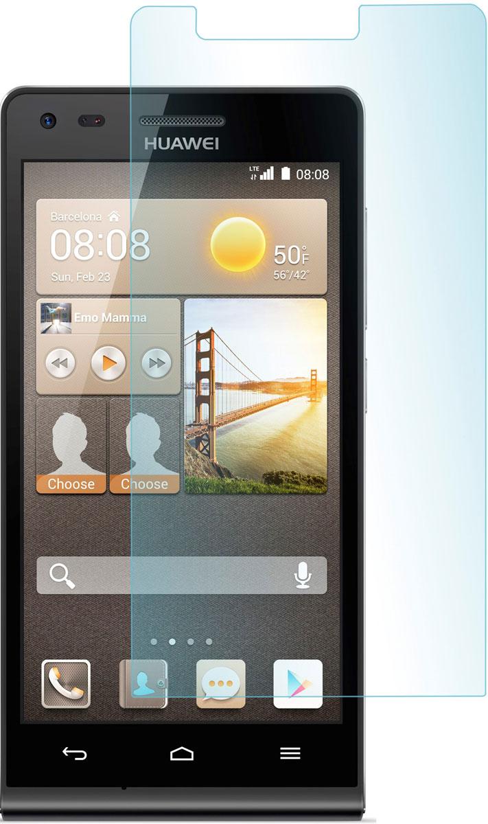 Skinbox защитное стекло для Huawei Ascend G6, глянцевое чехлы для телефонов skinbox huawei honor 6 plus skinbox lux