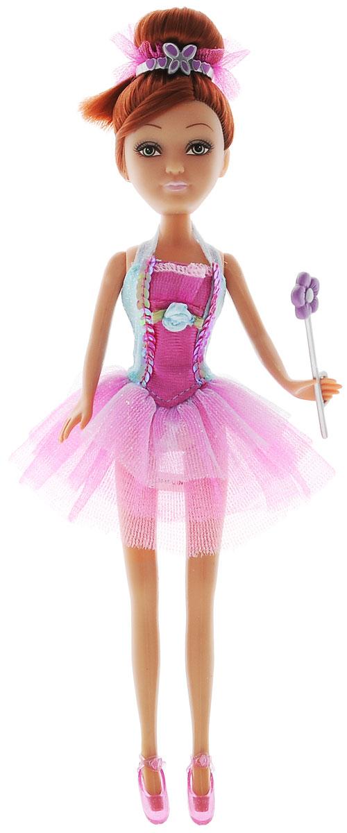 ABtoys Кукла Brilliance Fair Балерина цвет платья голубой розовый кукла funville brilliance fair с диадемой и волшебной палочкой