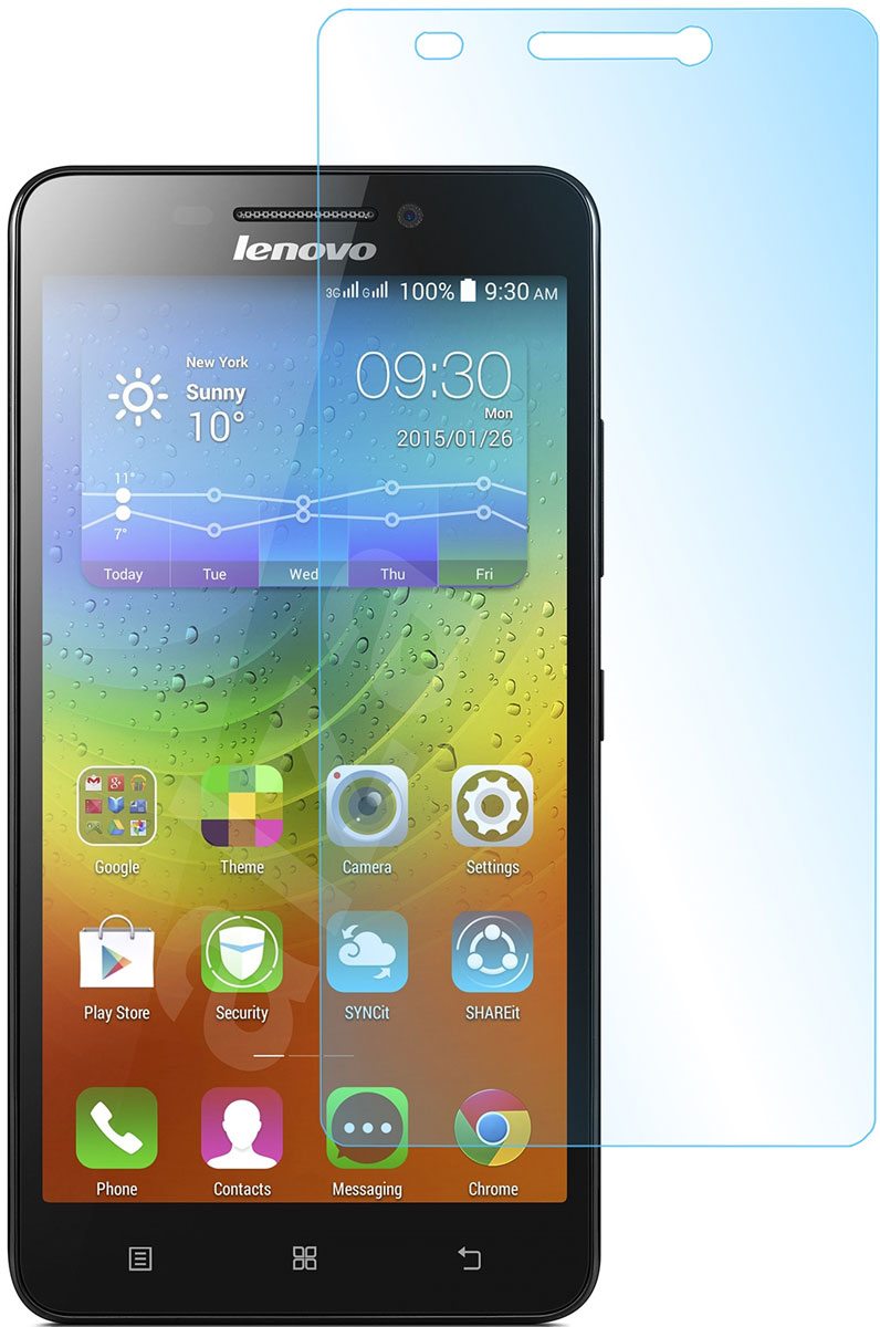 Skinbox защитное стекло для Lenovo A7000, глянцевое