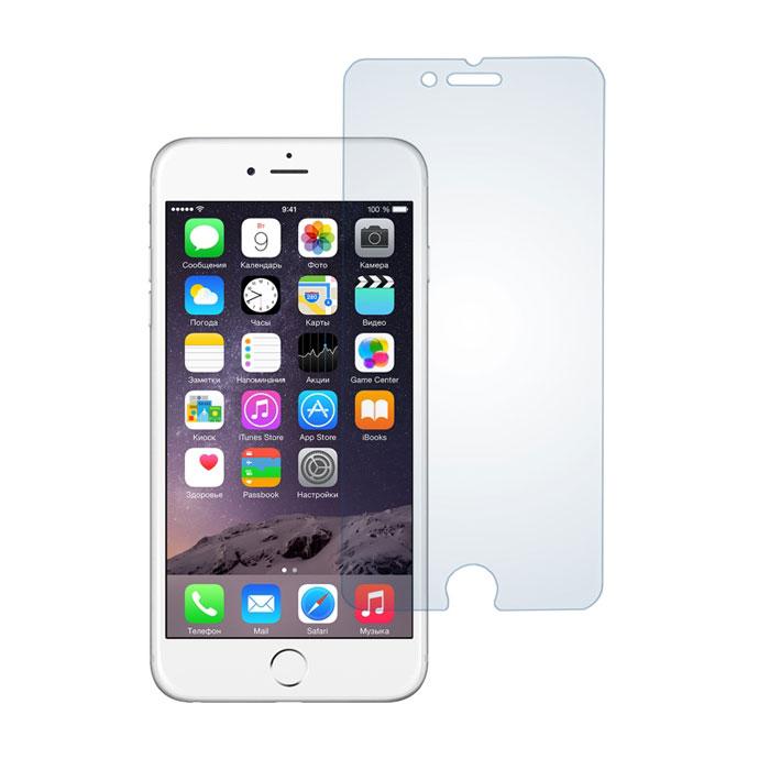 Skinbox защитное стекло для Apple iPhone 6, глянцевоеSP-074Защитное стекло Skinbox для Apple iPhone 6 предназначено для защиты поверхности экрана от царапин, потертостей, отпечатков пальцев и прочих следов механического воздействия. Оно имеет окаймляющую загнутую мембрану последнего поколения, а также олеофобное покрытие. Изделие изготовлено из закаленного стекла высшей категории, с высокой чувствительностью и сцеплением с экраном.