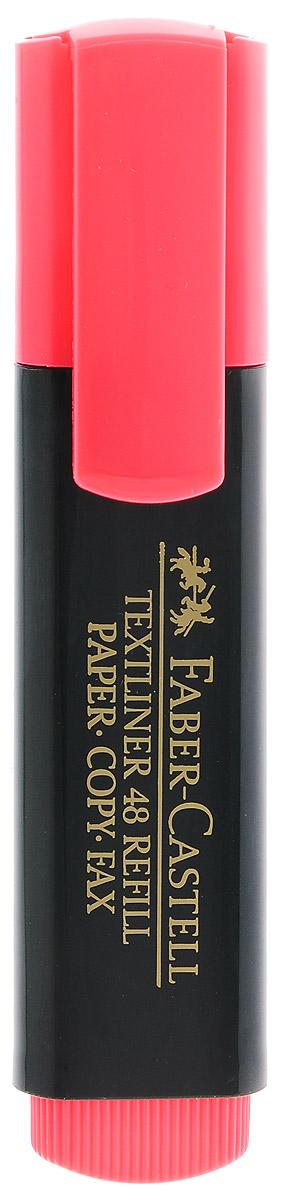 Faber-Castell Текстовыделитель цвет красный263293Текстовыделитель Faber-Castell красного цвета станет незаменимым предметом как на столе школьника, так и студента.Маркер с универсальными чернилами на водной основе идеален для всех видов бумаги. Имеется возможность повторного наполнения чернилами. Линия маркировки шириной 5, 2 или 1 мм.