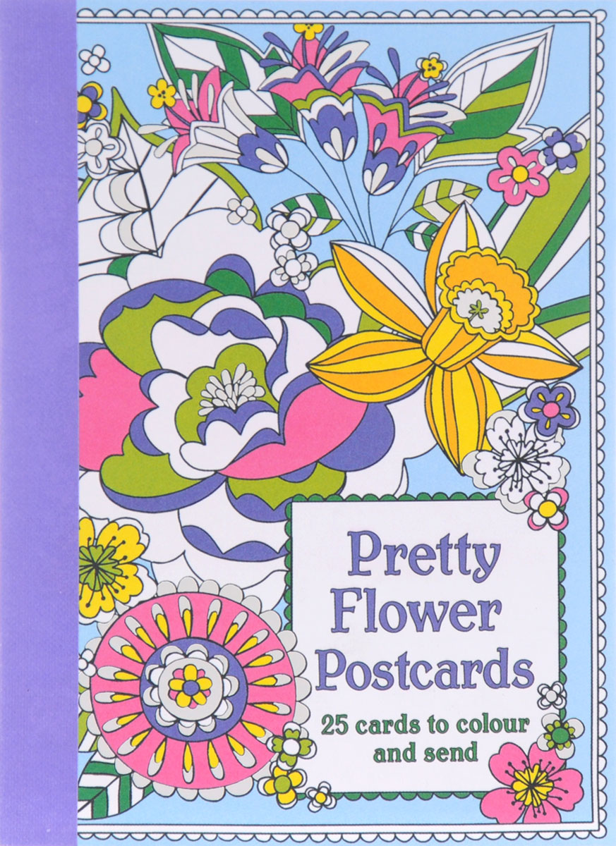 Pretty Flower Postcards 30pcs in one postcard take a walk on the go new york america christmas postcards greeting birthday message cards 10 2x14 2cm