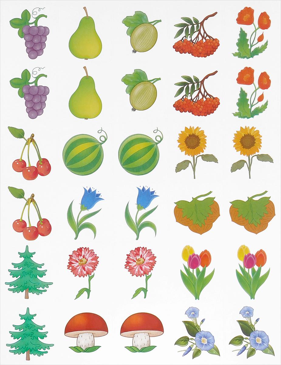 Природа. Наклейки на шкафчики для детских садов