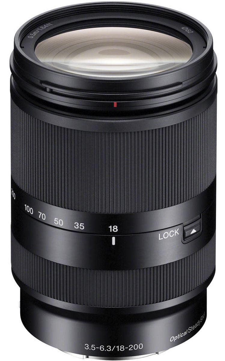 Sony 18-200mm F/3.5-6.3, Black объектив для Nex - Объективы
